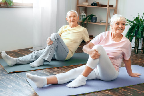 Stretching Is Good for Older Adults