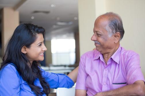 Warm Conversations with Schizophrenic Seniors